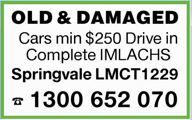 Cars min $250 Drive in Complete IMLACHS    Springvale LMCT1229    1300652070