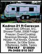 Kedron Caravan