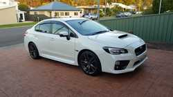 Subaru/WRX/2015 25,000km 2.0L Turbo. White Rego 14-6-19. $35,000 ono. Ph 0423502480.