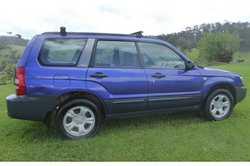 SUBARU Forrester 2002 - manual, RWC, air con, 185,000 ks, cruise control, rego, good cond & t...