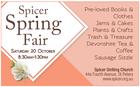 Spicer Spring Fair