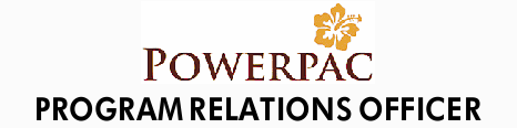 As Program Relations Officer for Powerpac, you are a passionate caring individual who has excelle...