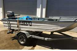 STACER 3.7M Runabout + trailer