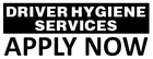 DRIVER HYGIENE SERVICES