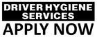 DRIVER HYGIENE SERVICES