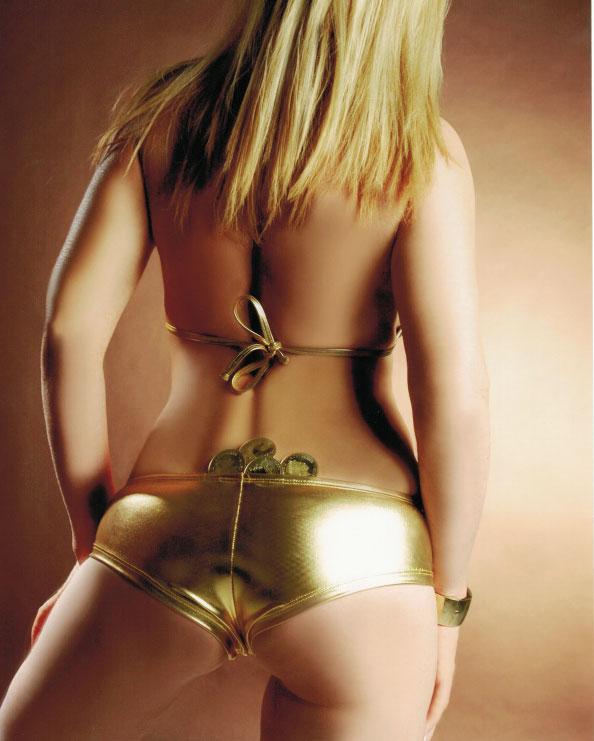 GOLDEN BOMBSHELL     Sexy  Raunchy  Blondie  Naughty  Raunchy & Fu...