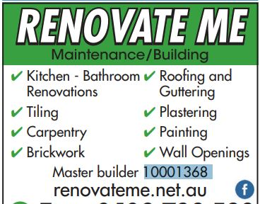 Renovate Me is a highly professional and qualified company that specialises in property maintenan...