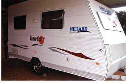 MILLARD full van,  2010,  full annex,  microwave,  a/c,  TV,  2...