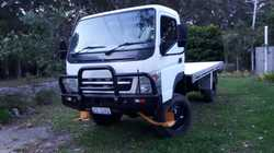 68,800 kms, 150hp 4cyl diesel turbo,, excellent condition. New heavy duty alloy tray, super single w...