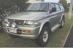 MITSUBISHI Challenger,  1998,  V6 petrol,  auto,  a/c,  p/steer, ...