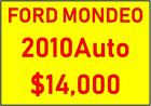 FORD MONDEO ZETEC 2010 Auto (Black)