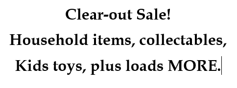 Charmhaven Clearout Sale! household items, collectables, kids toys, plus loads MORE. Sat 27th 8am...