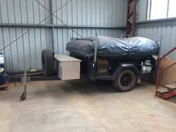 2012 GIC off Road Camper Trailer VG condition – has been sitting in my work warehouse and external d...