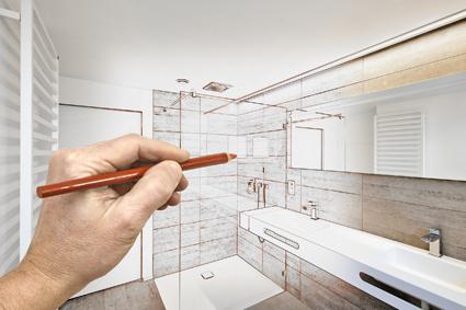 Majestic Bathrooms > Full / Partial bathroom & laundry renovation > Repair leaking show...