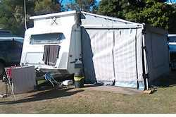 ROMA Pop Top, single axle, 17ft, roll out awning, full annexe, dbl bed, LED lighting, battery, dc...