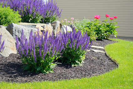 Paving Retaining Walls Concrete Irrigation Systems Turfing Garden Restorations Excavations.