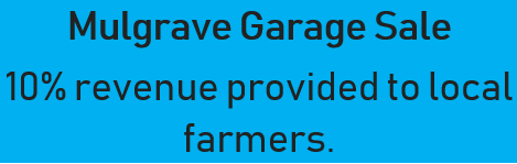 10% revenue provided to local farmers.   Designer clothing, power tool, jewlery, electronics,...