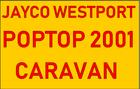 Jayco Westport Poptop Caravan 2001