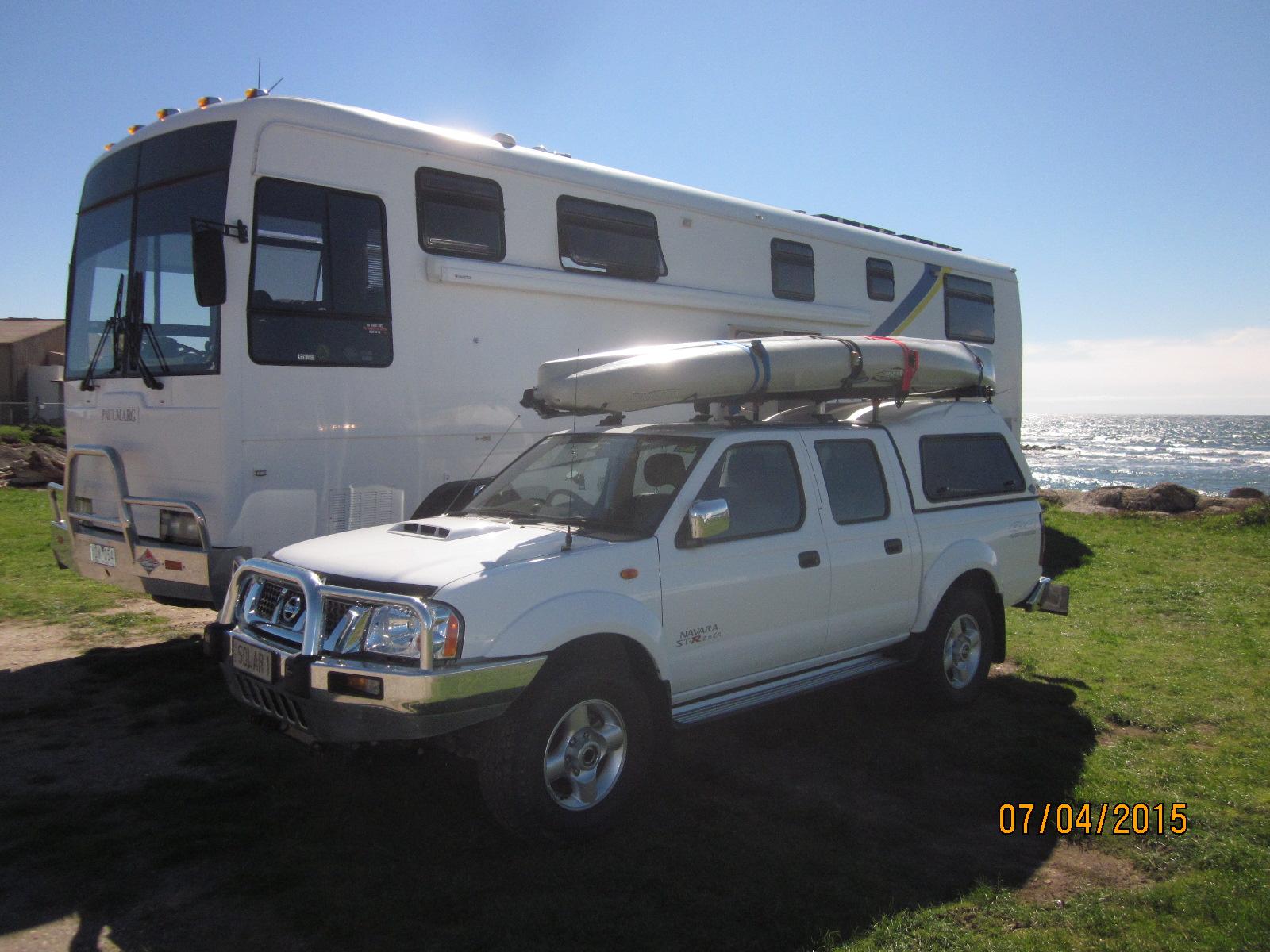 TOURING COMBO   Denning Coach with Pegasus   2004 Conversion and 2014 Navara Dual Cab 4x4...