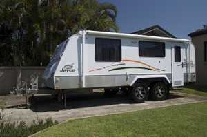 2011 Jayco Outback Discovery 18 ft Poptop. Sleeps 2. Reverse-cycle air-con, 3-way Fridge, LED lights.