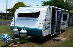 JAYCO Freedom Poptop 2002, gc, sb, roa, annex, gas cook top, 3way fridge, elec brakes + alko brak...