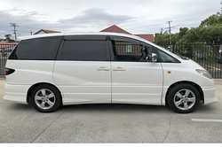 TOYOTA Estima 2002,  AWD, V6, 3 Lt, auto, RWC, 6mths rego, 7 seater, 168,000ks, twin sun...