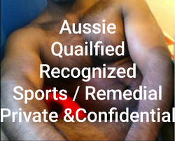 THE MUSCLE MECHANIC GuyAbandon ALL body Tension 24/7 Qualified phone 040 5564 914AUSSIE MALE Hands G...