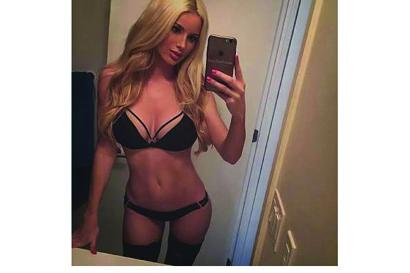 <ul> <li> Stunning blonde</li> <li> Sexy body</li> <li> Private escort from...</li></ul>