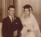 Happy 50th Wedding Anniversary Alfio & Frances
