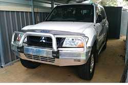 PAJERO NP,  spare parts or rebuild,  auto,  3.2 diesel,  b/bar,  t/b...