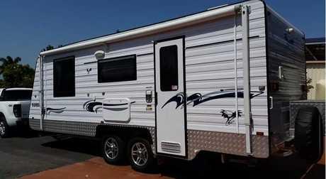 <p> EUREKA 2014 20ft semi- off road caravan. </p> <p> only used 3x, as new, always garaged, full...</p>