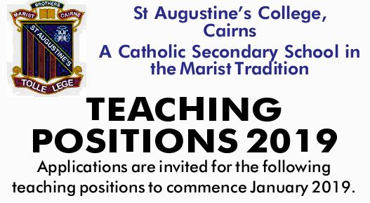 St Augustine's College, Cairns A Catholic Secondary School in the Marist Tradition    App...