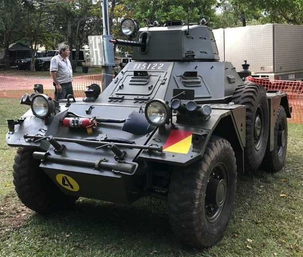 DAMILER FERRETT Ex Army Scout Car Rolls Royce engine 2 seats PLUS radio In Running Condition, $25...