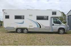 2009 Jayco OptImum 26ft Motorhome, 4 berth, many extras. Good condition, rego, $98,000. Phone 042...
