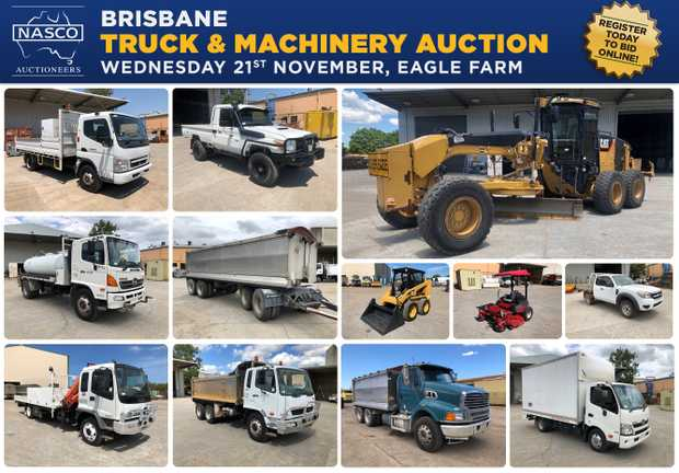 BRISBANE TRUCK & MACHINERY AUCTION