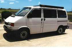 VW TRANSPORTER WV   5 spd man trans, 4 cyl, 2.5 petrol motor, compliance for camper, dble bed...