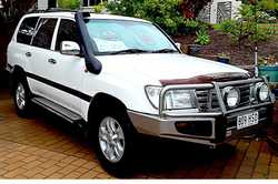 "TOYOTA L'cruiser 2004, 4.7 V8 3"" exhaust sys, OME suspension, Pacemaker extractor/head..."