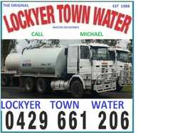 Lockyer Town Water Water Cartage Call Mick 2,000 to 8,000 Gallons 9,000 to 36,000 LITRES