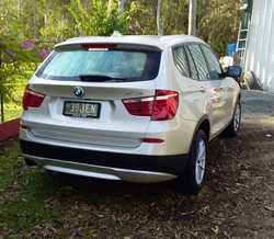 BMW 2012 X3   20 D, F 25, Twin turbo, 99, 879 kms,   Lady owner, Excellent condition, all...