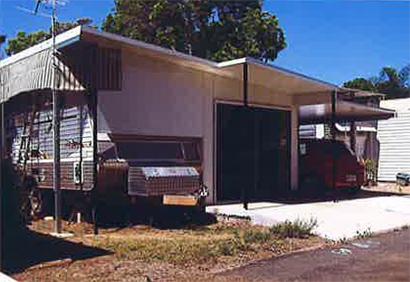 <p> CARAVAN ANNEX CARPORT </p> <p> Roof 75mm thick, wall 55mm thick </p> <p> All...</p>