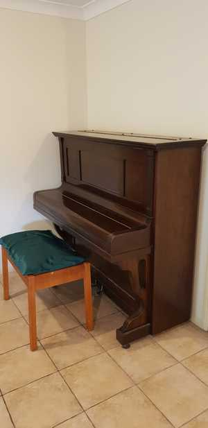 Upright Piano with stool, Victor - W H Paling & Co Ltd Suit beginner.  Negotiable.