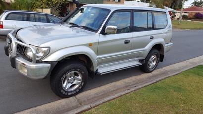 <p> 2001 Toyota Prado </p> <p> 50th Anniversary model, GXL </p> <p> regular service, very...</p>