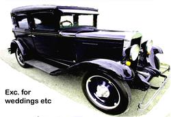 Exc. for weddings etc   $25,500 firm   A rare hardtop car