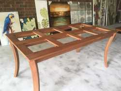 Warehouse Clearance Stock - Dining room $180 and coffee table $85, Roman Blinds, Artwork all drastic...