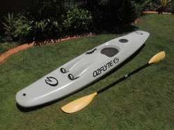 Osflyte 7 foot paddle ski for sale . Ski is in very good condition and includes the paddles. This sk...
