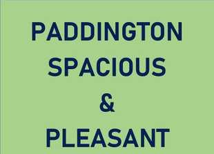 Paddington: Spacious & Pleasent Single room to let,   shared bathroom, central location ...
