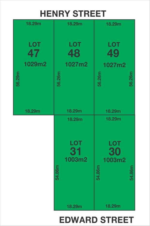 """5,090m2 Land (approx.)   """"Five Separate Torrens Titles""""   Two Street Frontages..."""