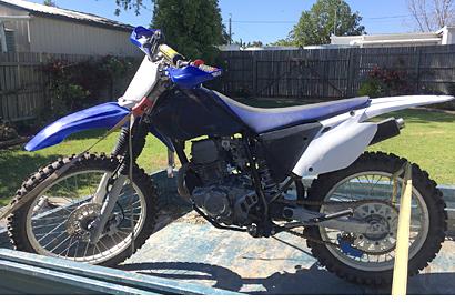 Yamaha TTR 230A