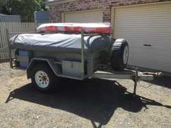 Aussie Built offroad camper, 14' tent & annex, boat rack, kitchen box, always garaged