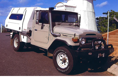 TOYOTA L/CRUISER 1975, FJ45, 4 cyl, turbo diesel, 5 spd g/box, ex cond, plus extras, rego, $30,00...